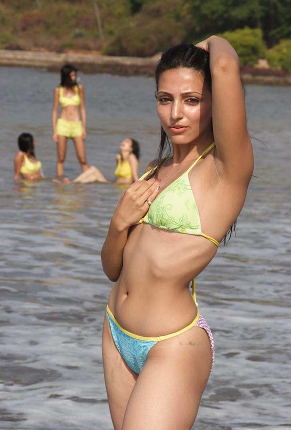 Navina Bole in Hot Bikini