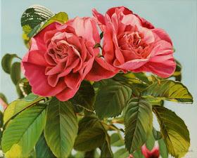 Cuadros de Flores Hiperrealismo