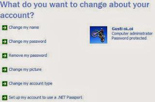 Cara Membikin  Password Komputer Windows XP