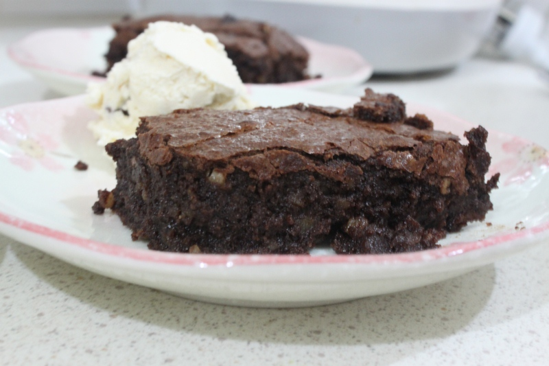 More than Words: Flourless Chocolate Brownies
