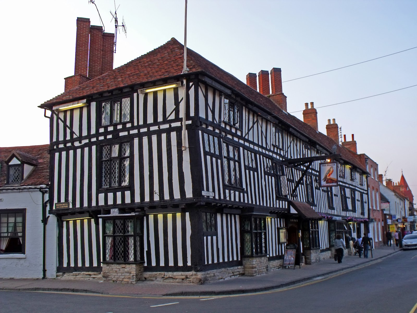 Pubs then now 079 falcon hotel stratford upon avon for The stratford