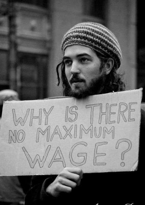 Why is there no Maximum Wage?