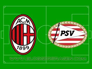 Pertandingan PSV Eindhoven vs AC Milan