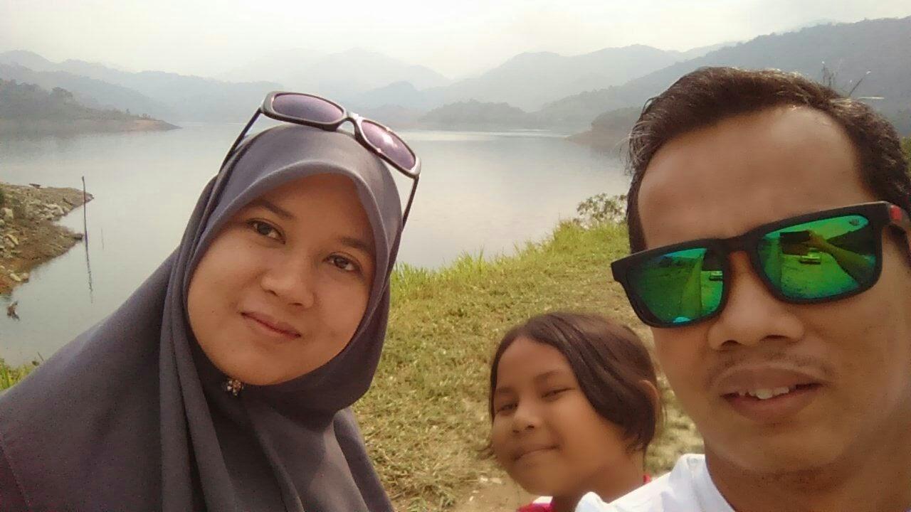 selfie seround di Dam sg Selangor