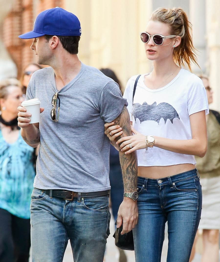 News Trend: Adam levine dated nina agdal