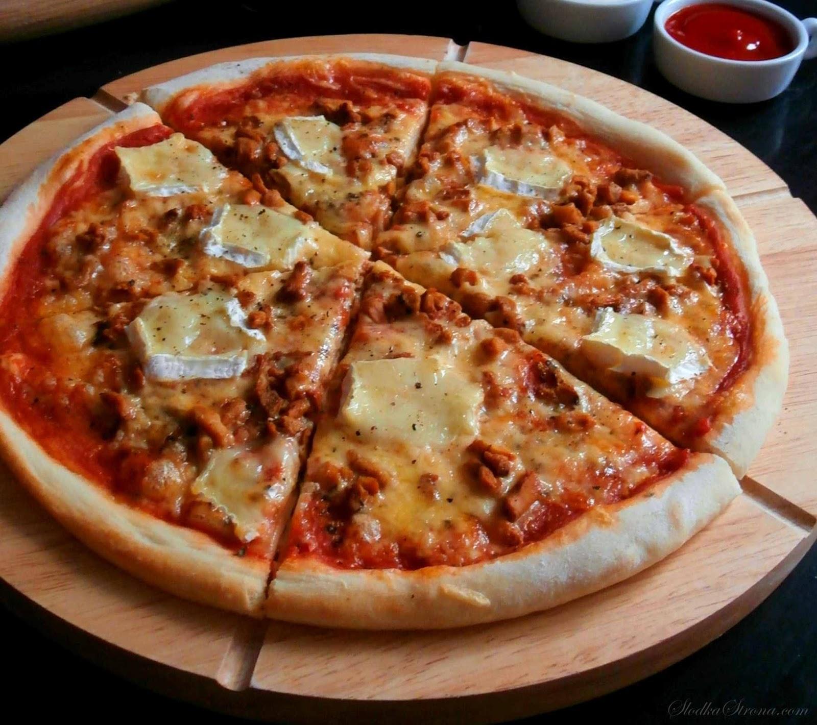pizza z brie