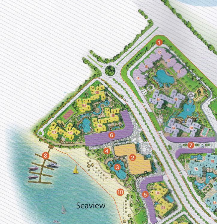 Country Garden Danga Bay condo 碧桂园,金海湾,马来西亚 Siteplan