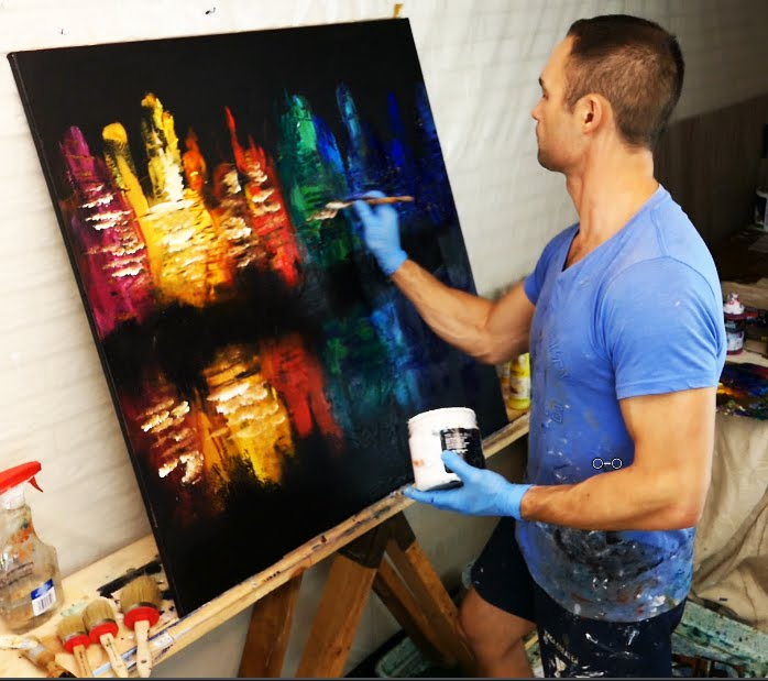 ABSTRACT PAINTINGS VIDEO TUTORIALS