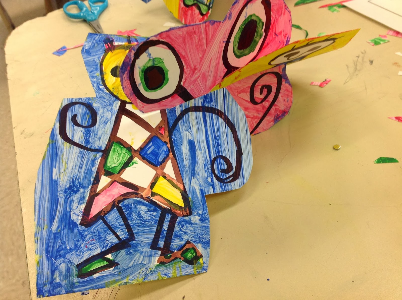 Joan Miro 3D Art Lesson