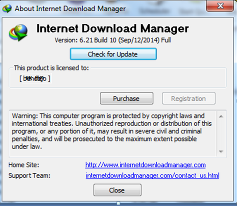 Internet download manager IDM 6.21 Build 10 Full Version Versi Terbaru 2014