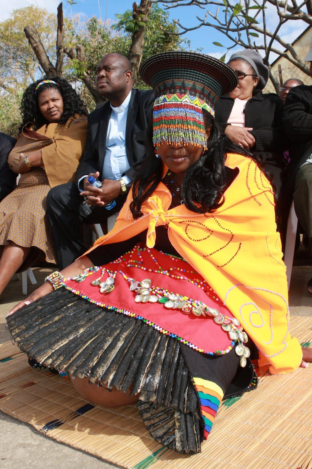 umabo  traditional zulu wedding
