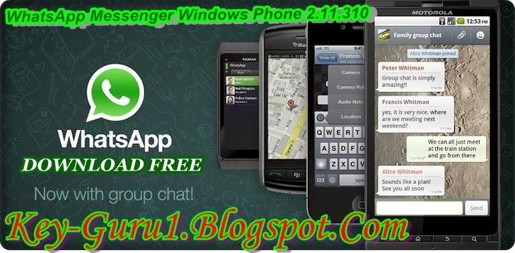 WhatsApp Messenger (Windows Phone) Download FREE Latest