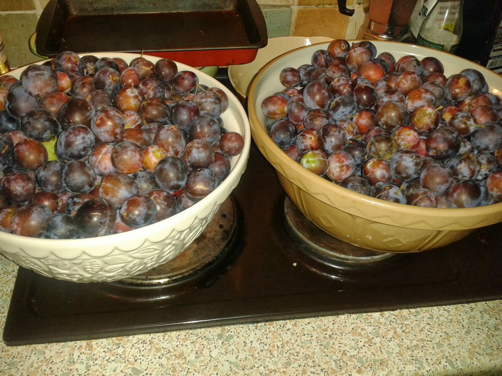 Desperate Reader: Damson Thursday and a couple of links