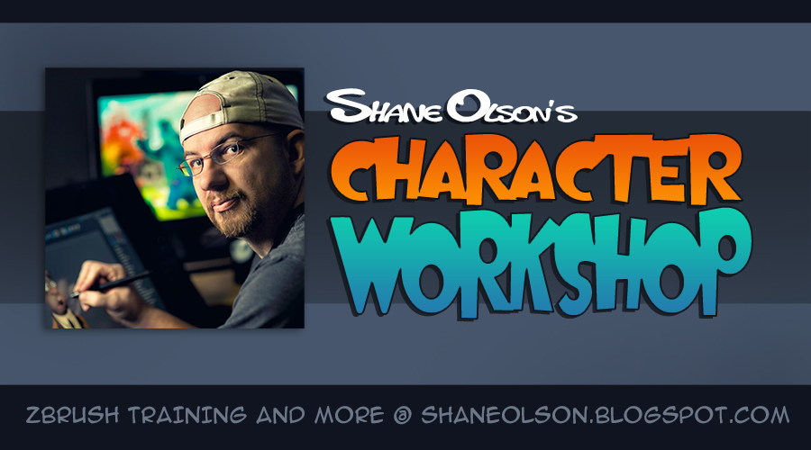 Shane Olson's Character Workshop