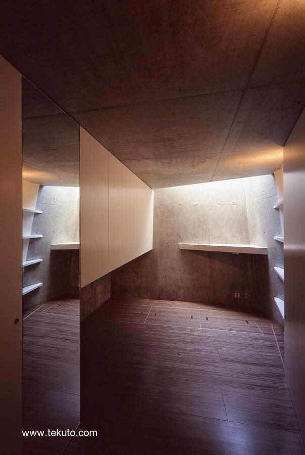 Un cuarto de la casa sin mobiliario