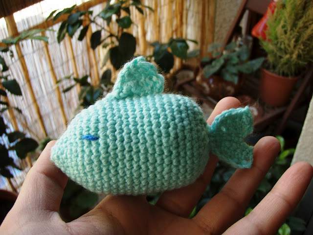 little fish crochet toy