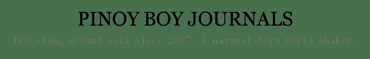 PINOY BOY JOURNALS