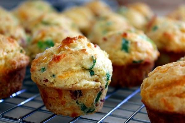 Kitchen Trial and Error: mini bacon scallion corn muffins ...