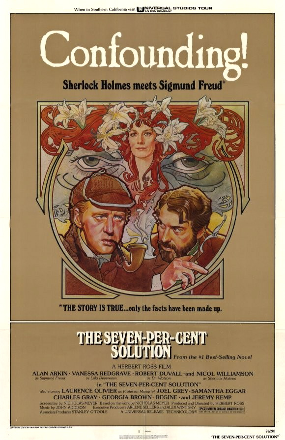 meyer's the seven per cent solution All about reviews: the seven-per-cent solution by nicholas meyer librarything is a cataloging and social networking site for booklovers.