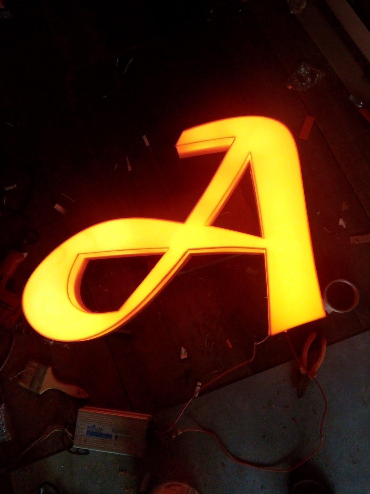 Acrylic 3d Led Letter
