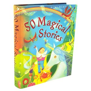 '50 Magical Stories' Miles Kelly Book Cover