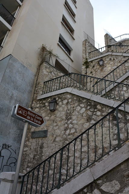 Notre-Dame de la Garde stairs