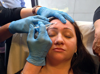 During Botox Treatment