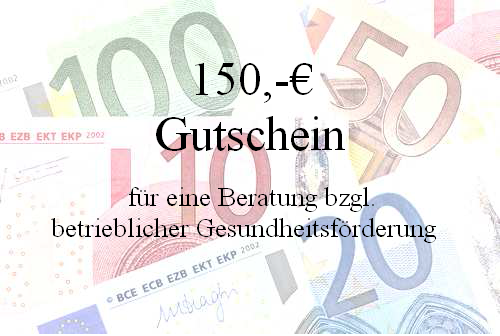 600 EURO (4 x150 Euro) GUTSCHEINAKTION !!