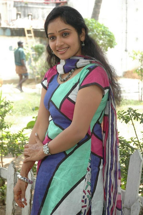 Keerthi Sagakkal in a Multi Color Churidar, Churidar Styles online hot photoshoot
