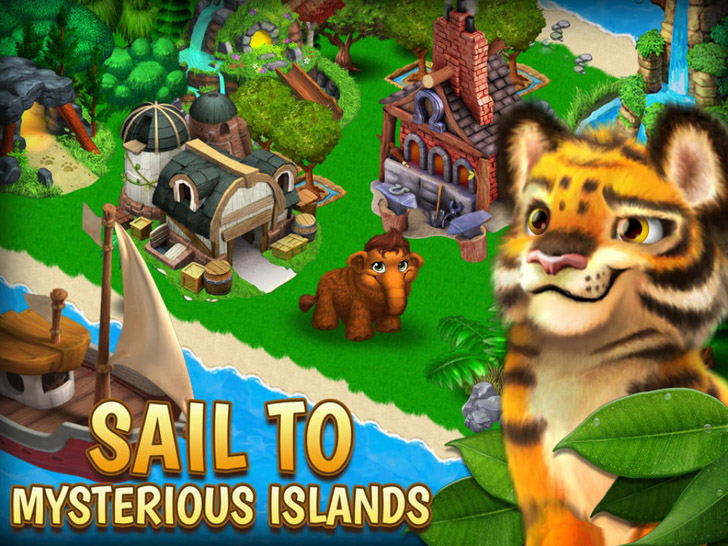 Animal Voyage: Island Adventure App iTunes App By Pocket Gems, Inc. - FreeApps.ws