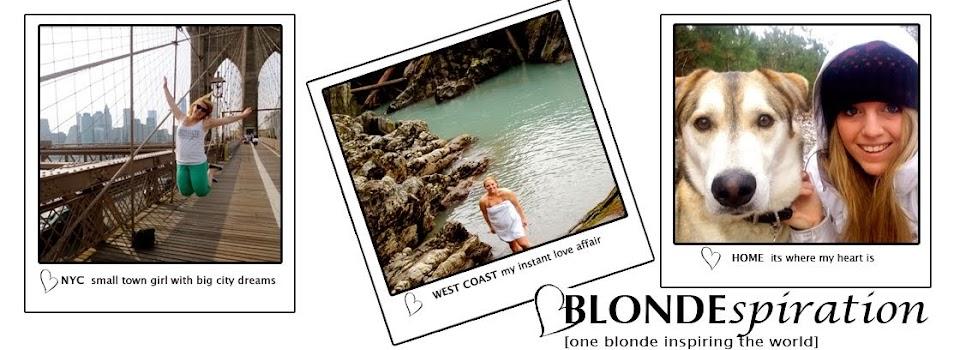 Blondespiration