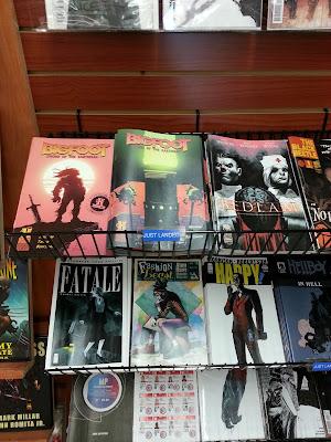 bigfoot sword of the earthman issue 1 and 2 blastoff comics north hollywood comic book barbarian graphic novel