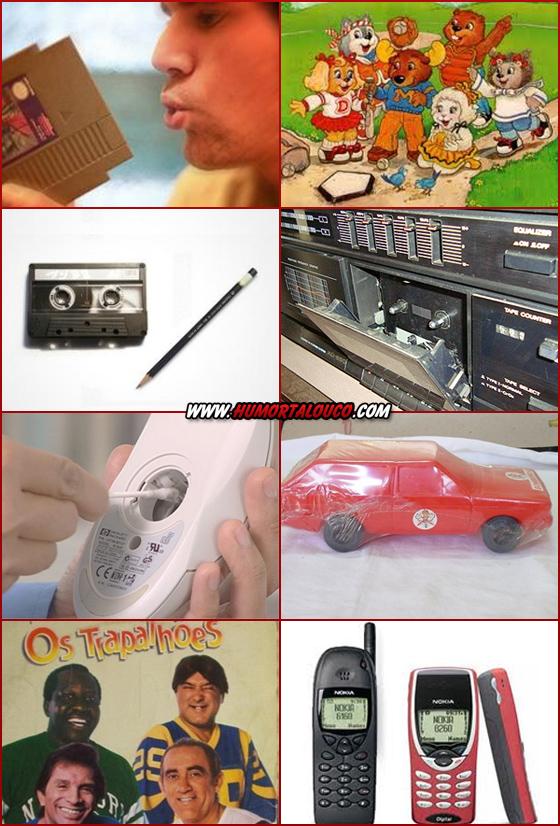 Se você entender maior parte destas imagens você é maior de idade