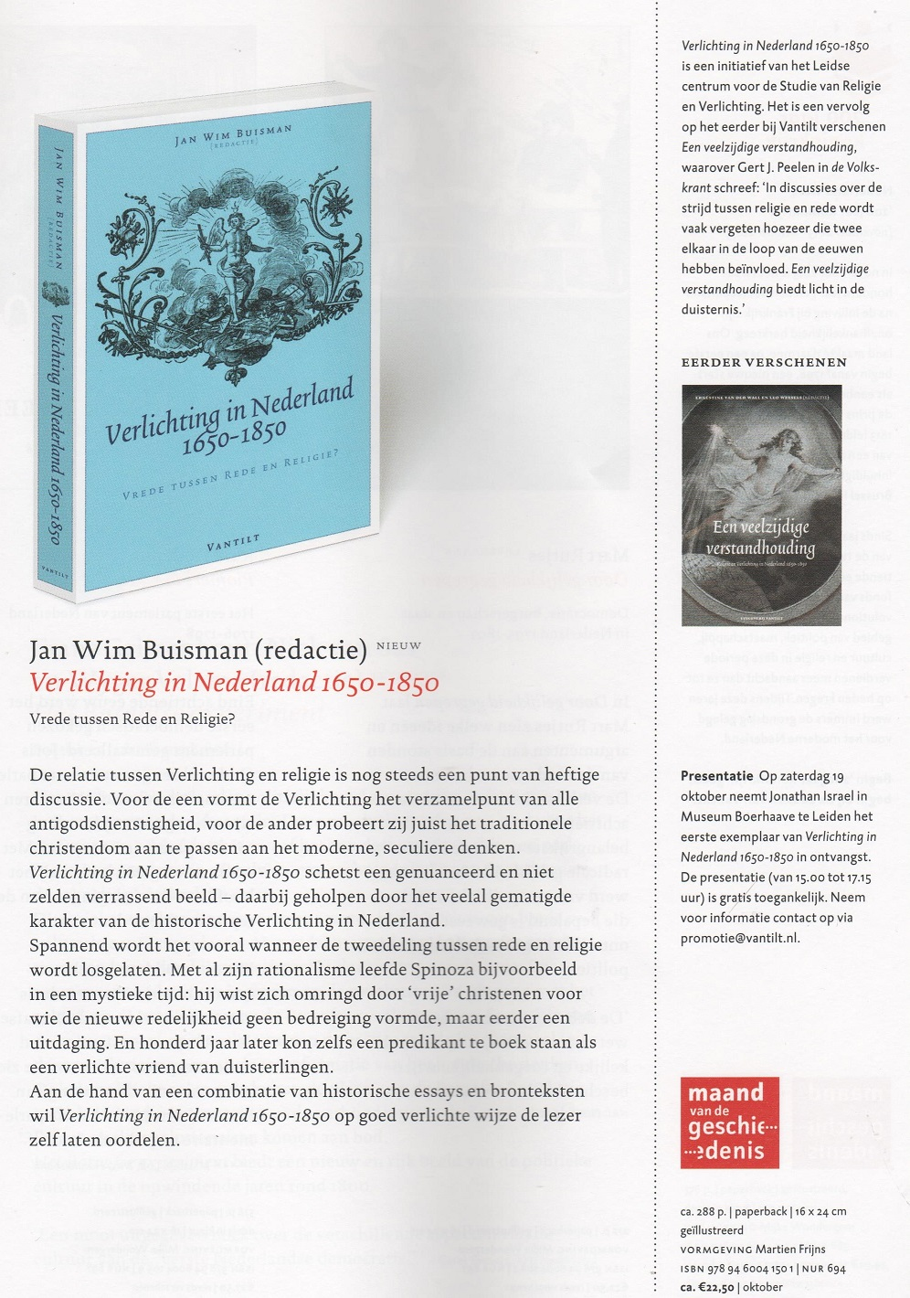 Nieuwe boeken over de Verlichting - BdSpinoza