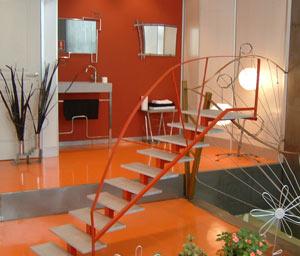 Decoraci n minimalista y contempor nea decoraci n con - Lo ultimo en pinturas para interiores ...