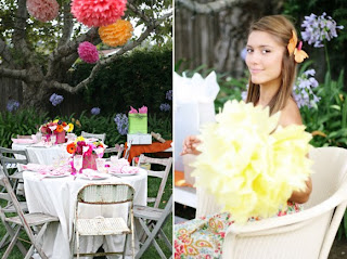 Outdoor Fall Bridal Shower Decorations