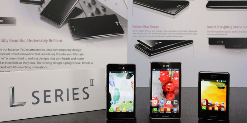 New LG Optimus L Series II