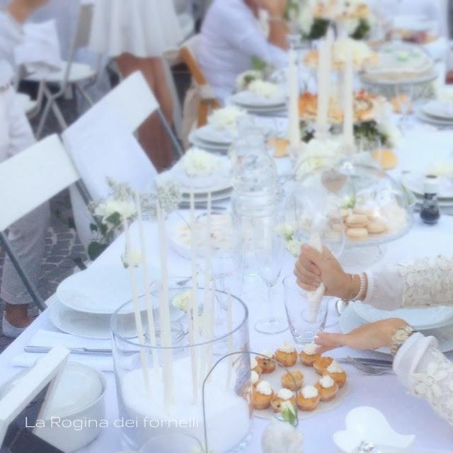 cena in bianco : mini cupcakes salati