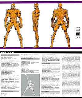 Insecto Dorado (ficha marvel comics)