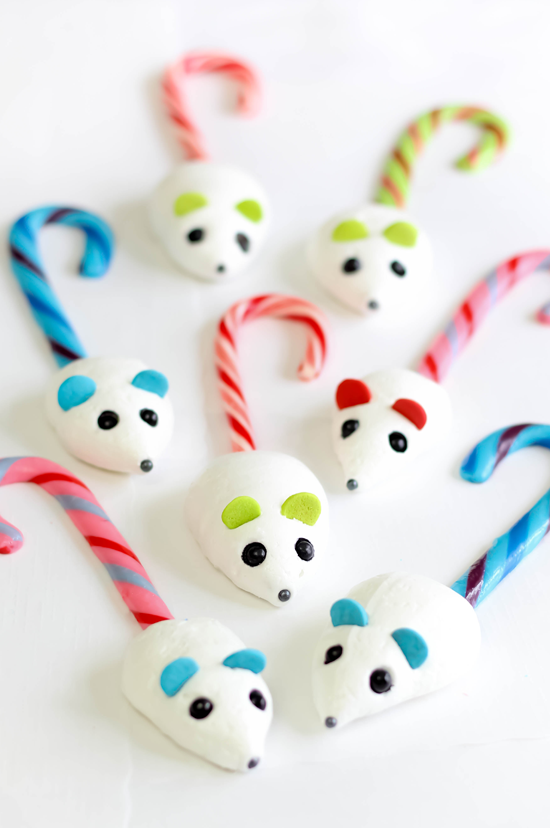 Candy Cane Mice