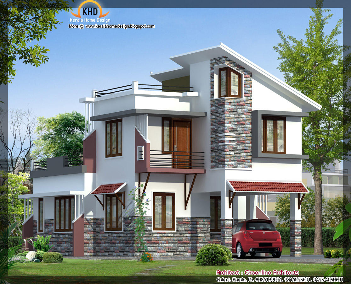For architects modern villa for Latest architectural house designs