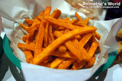 Sweet Potato Fries at The Boiling Crab