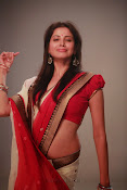 Supriya Shailaja Photos in saree-thumbnail-4