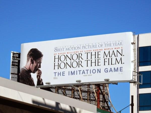 Imitation Game Oscar billboard
