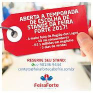 ABERTA A TEMPORADA DE VENDAS STANDS DA FEIRA FORTE 2017