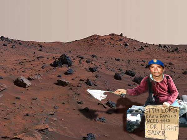 hobos and rock stars from mars