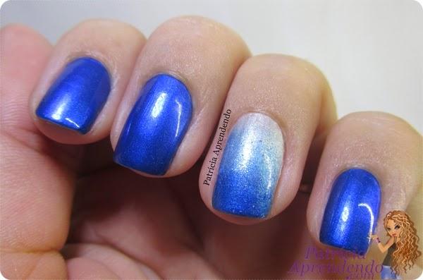 Esmaltes Ludurana Blue e Diamante Puro
