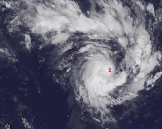 System 94S (potentiell Zyklon ETHEL) im südwestlichen Indik NE von Diego Garcia