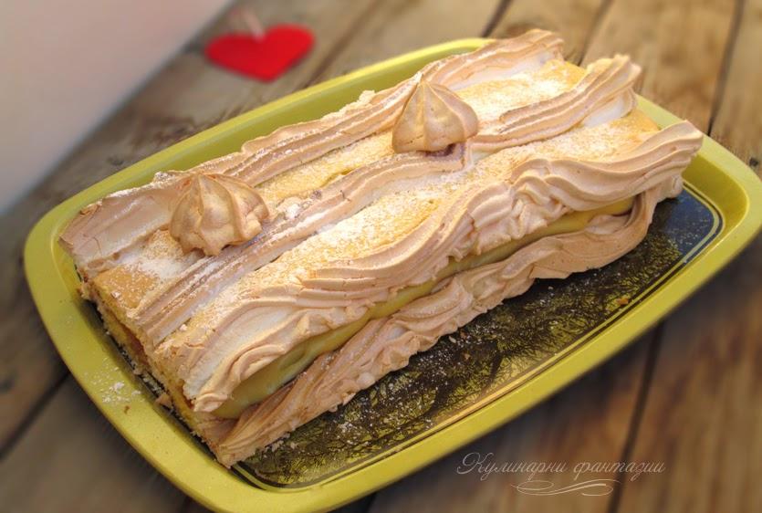 Австрийски сладкиш Kardinalschnitten