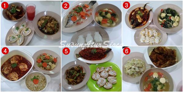 tips urus masa memasak